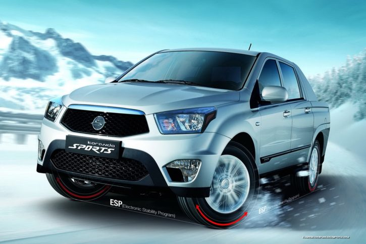 SsangYong Actyon Sport